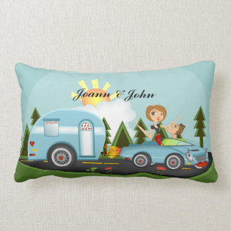 Camper Paridise ** Please custom/art size pillow! Lumbar Pillow