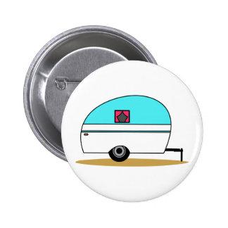 Camper Pinback Button