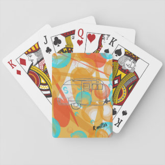 Camper playing cards