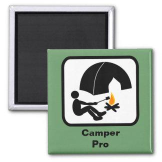 Camper Pro 2 Inch Square Magnet