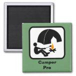 Camper Pro Fridge Magnet
