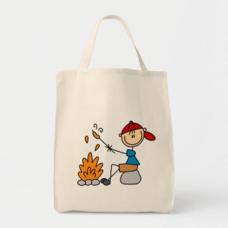 Camper Roasting Hot Dogs Tshirts and Gifts Tote Bag