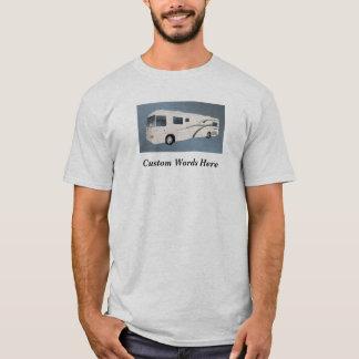 Camper RV Motorhome PersonalizedCustom Wording T-Shirt