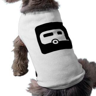 Camper Sign Dog Tshirt