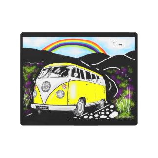 Camper Van: Kool Kampers Metal Print