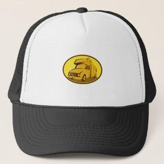 Camper Van Mobile Home Retro Trucker Hat