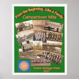 Camperdown/poster de la semana de la materia texti póster