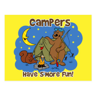 Campers Have S More Fun Postcard