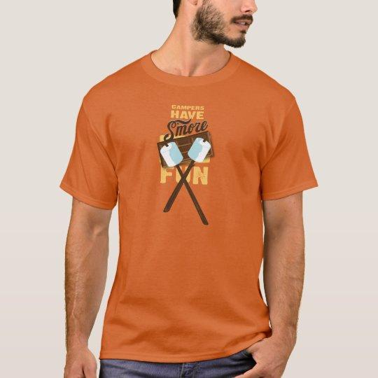 Campers Have S'more Fun Bonfire Bash T-Shirt