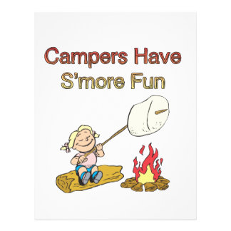 Campers have S'more fun Flyer