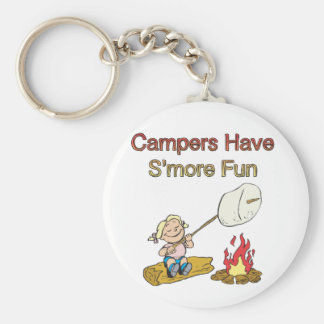 Campers have S'more fun Keychain
