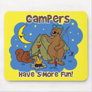 Campers Have S'More Fun Mousepad