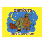 Campers Have S'More Fun Postcard