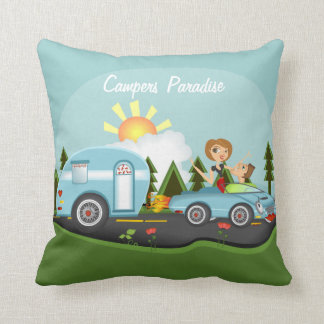 Campers Paridise Pillows