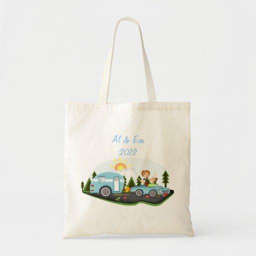 Campers Paridise Tote Bag