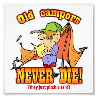 Campers Photo Print