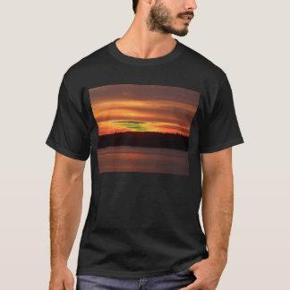 Camper's Sunset Black Tshirt