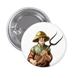 Campesino de Wesnoth, Nedry (humano) Pin Redondo De 1 Pulgada