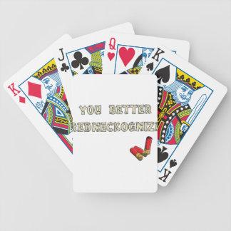 Campesino sureño barajas de cartas