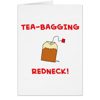 campesino sureño del té-empaquetamiento tarjetas