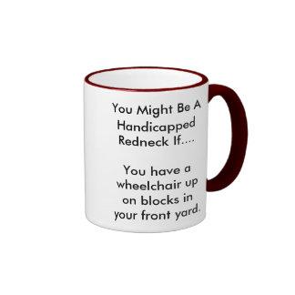 Campesino sureño perjudicado taza de café