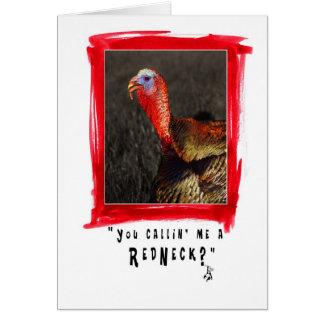 campesino sureño tarjeta de felicitación