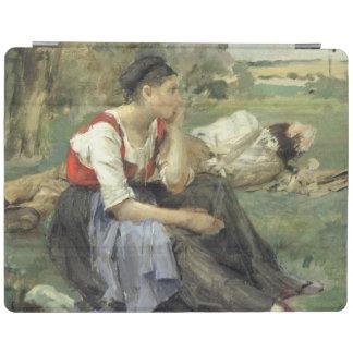 Campesinos de reclinación, 1877 cubierta de iPad