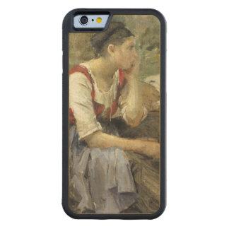 Campesinos de reclinación, 1877 funda de iPhone 6 bumper arce