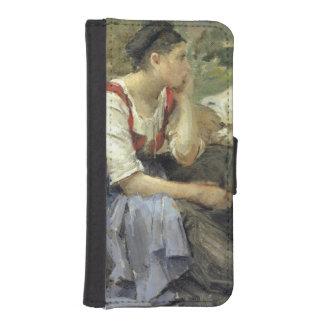 Campesinos de reclinación, 1877 fundas tipo billetera para iPhone 5
