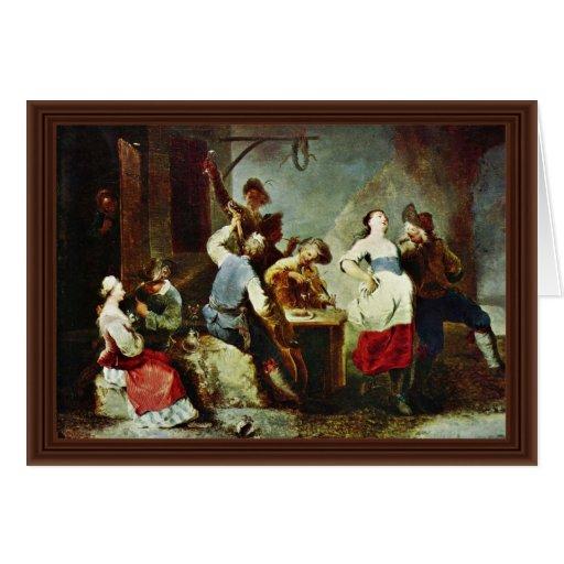 Campesinos del baile de Zick Januarius (la mejor Tarjeta De Felicitación