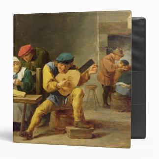 """Campesinos que hacen la música en un mesón, c.1635 carpeta 1 1/2"""""""