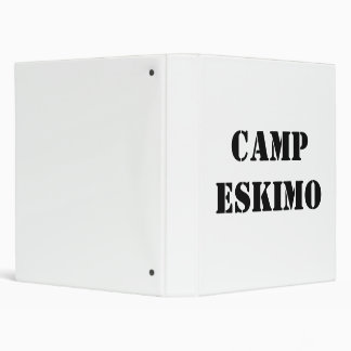 CAMPESKIMO 3 RING BINDER
