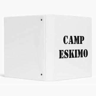 CAMPESKIMO 3 RING BINDER