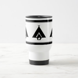 Campfire and Tent Coffee Mug