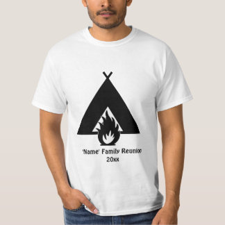 Campfire and Tent T-Shirt