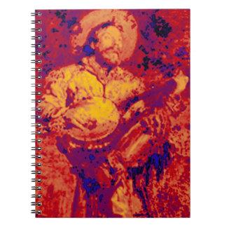 Campfire Banjo Spiral Notebooks