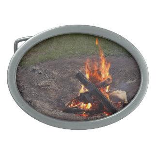 Campfire Belt Buckle