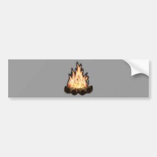 Campfire Bumper Sticker