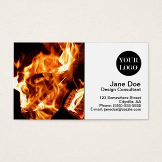 Campfire Business Card