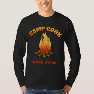 Campfire Camp Cook Mens Long Sleeve T-shirt