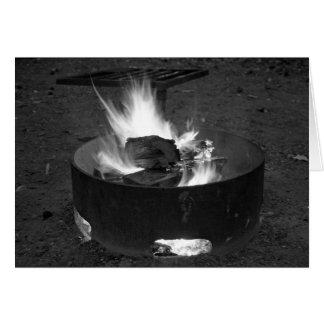 Campfire Card