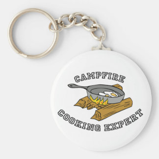 Campfire Cooking Expert Keychain