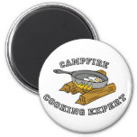 Campfire Cooking Expert Magnets