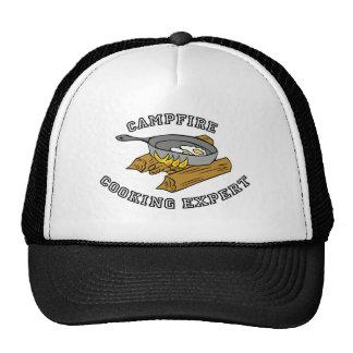 Campfire Cooking Expert Trucker Hat