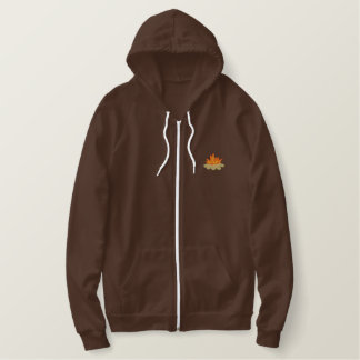 Campfire Embroidered Hoodie