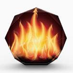"""Campfire Flame Fire Award<br><div class=""""desc"""">Campfire Flame Fire</div>"""