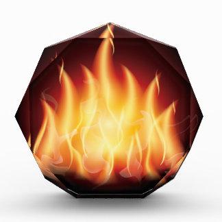 Campfire Flame Fire Award
