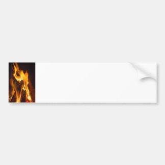 Campfire Glow Bumper Stickers