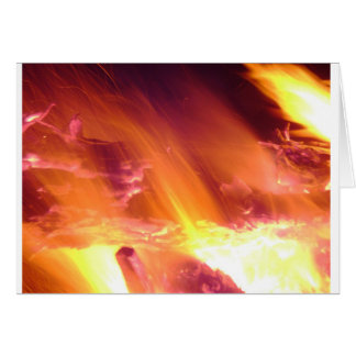 Campfire Holiday Card
