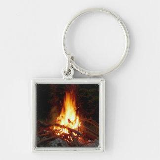 Campfire Keychain